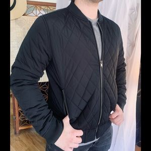 Zara Man Quilted Jacket New Condition